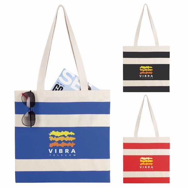 Promotional Simply Striped Tote