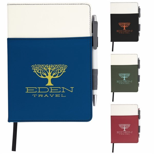 Promotional Good Value Wrap - Around Journal