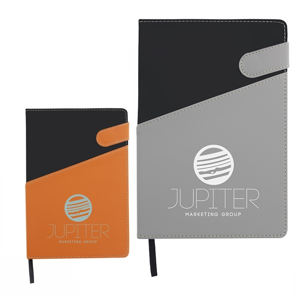 Promotional Colorblock Magnetic Journal