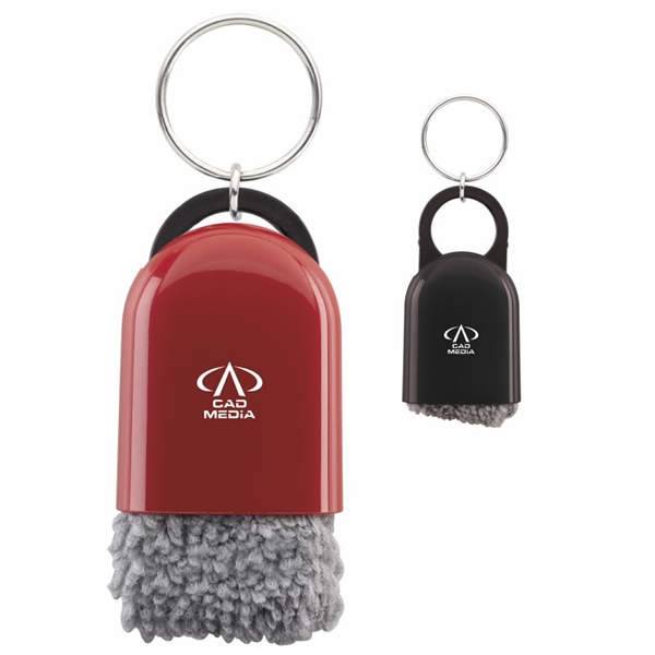 Promotional Cool Tech Cleaner with Keyring