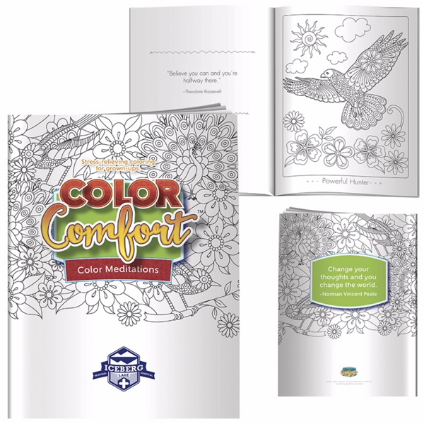 Promotional Adult Coloring Book - Meditations (Birds)