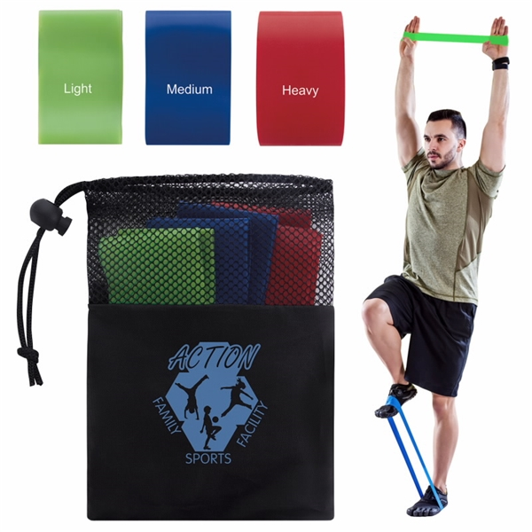 Promotional Exercise Resistance Bands Set