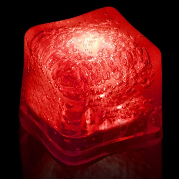 Promotional Blank Lited Ice Cubes - Red