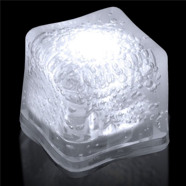 Promotional Blank Lited Ice Cubes - White