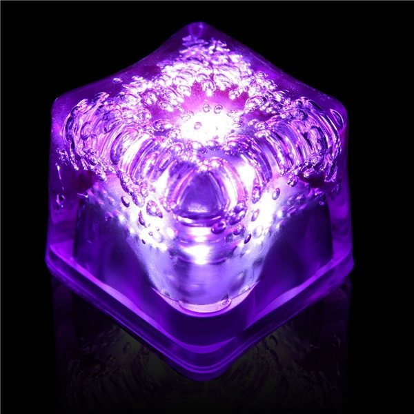 Promotional Blank Lited Ice Cubes - Purple
