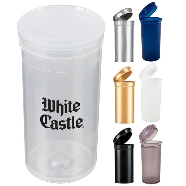 Promotional Pop Top Container (13 Dram)