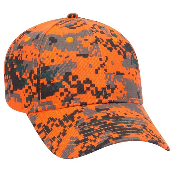 Promotional Digital Camouflage Cotton Twill Low Profile Style Caps