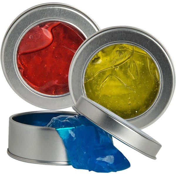 Promotional Anti - Stress Putty in Tin