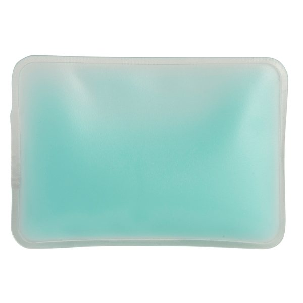 Promotional Opaque Blue Rectangle Chill Patch