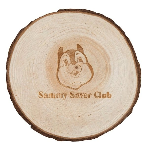 Promotional Natural Wooden Coaster