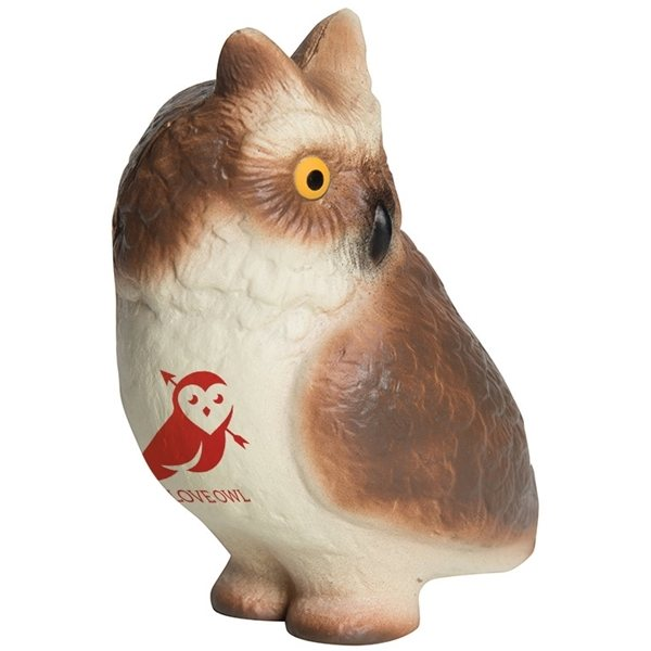 Promotional Horned Owl Squeezies