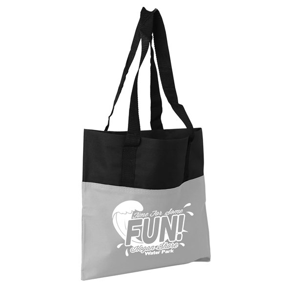 Promotional The Day Tote - 15 x 15 600D Tote Bag