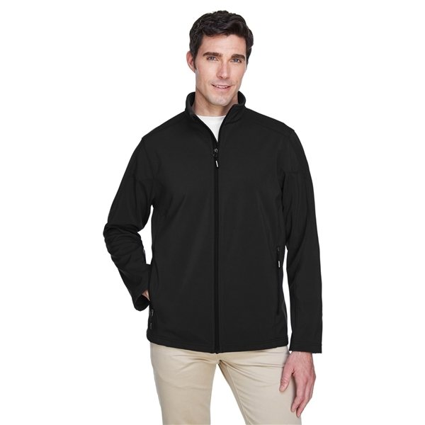 Promotional Ash City - Core 365 Mens Cruise Two - Layer Fleece Bonded Soft Shell Jacket - ALL