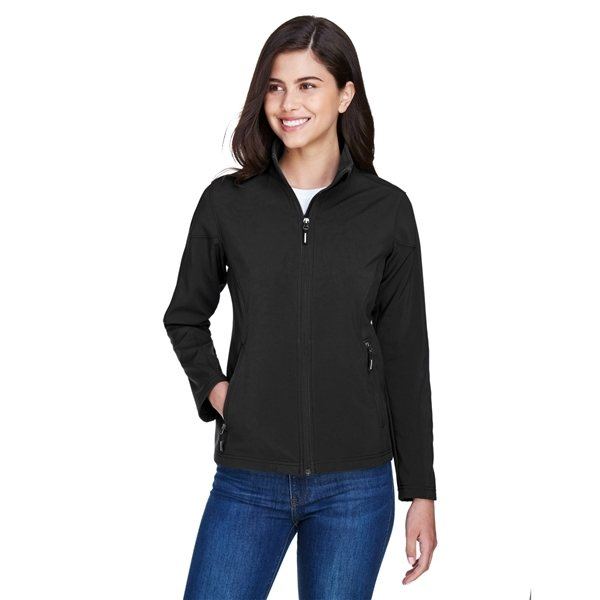 Promotional Ash City - Core 365 Ladies Cruise Two - Layer Fleece Bonded Soft Shell Jacket - ALL