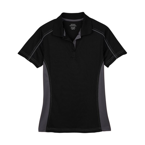 Promotional Ash City - Extreme Ladies Eperformance(TM)Fuse Snag Protection Plus Colorblock Polo - ALL