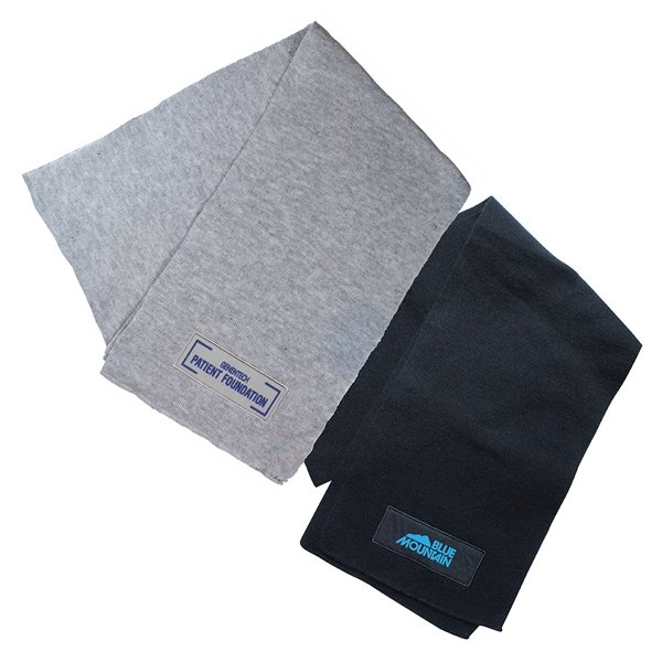 Promotional Winter Knit Scarf