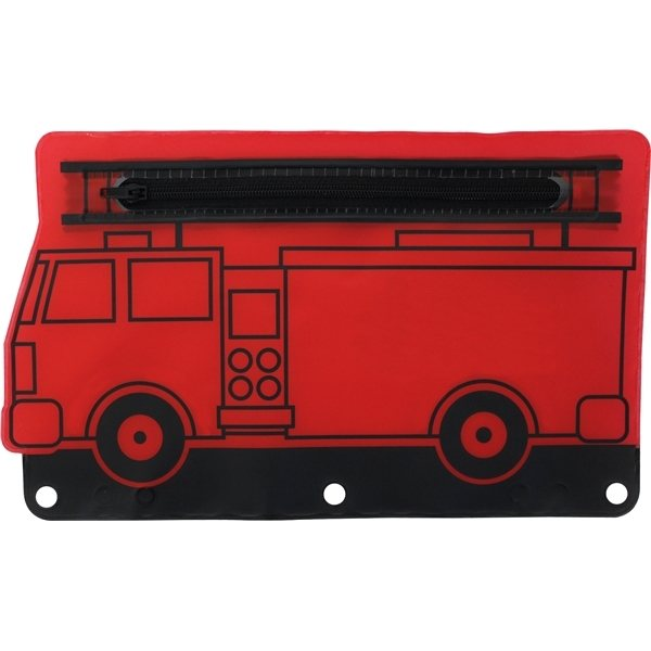 Promotional Fire Engine School Pouch