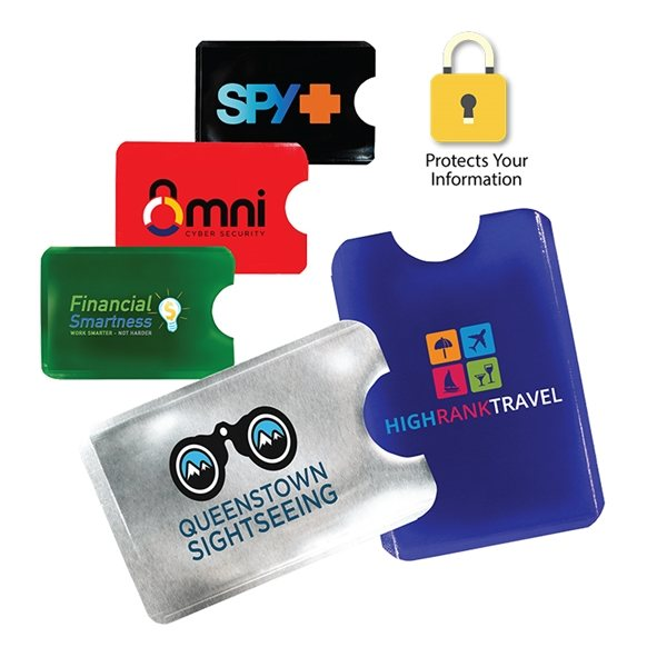 Promotional RFID Card Holder, Full Color Digital