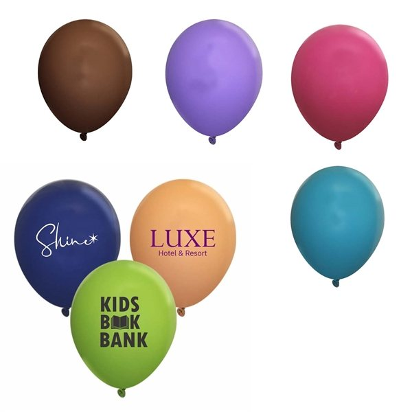 Promotional 11 Fashion Opaque Latex Balloon