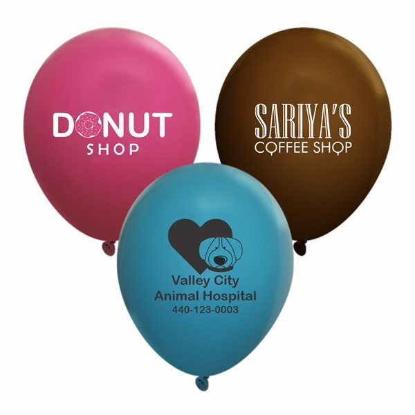 Promotional 9 Fashion Opaque Latex Balloon