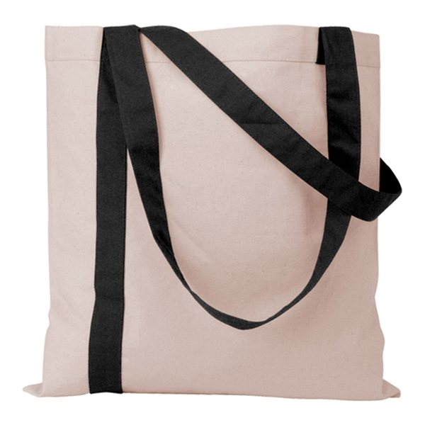 Promotional Striped Economy Tote