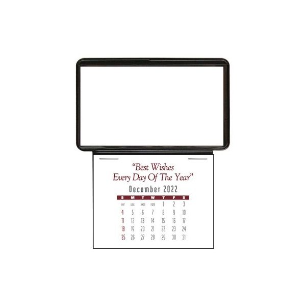 Promotional Press - N - Stick(TM) Business Card Holder Calendar - Without ad message