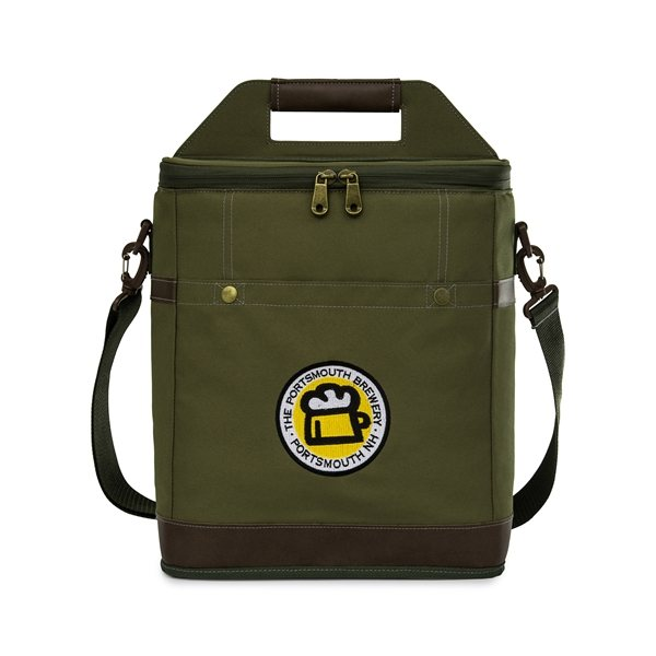 Promotional Imperial Insulated Growler Carrier - Loden