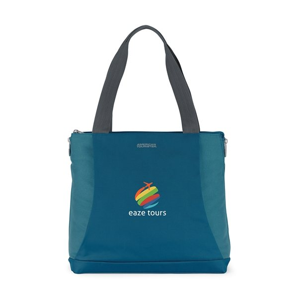 Promotional American Tourister Voyager Travel Tote - Tidal Blue