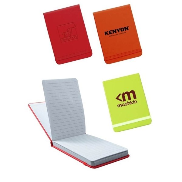 Promotional Leatherette Jotter Notebook By Trilogy