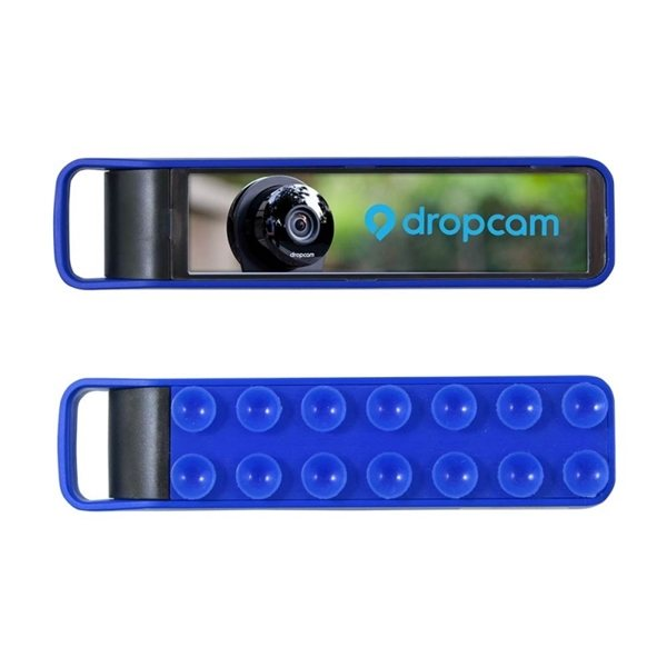 Promotional 2200 mAh Light Up Phone Stand Power Bank With Suction Cups
