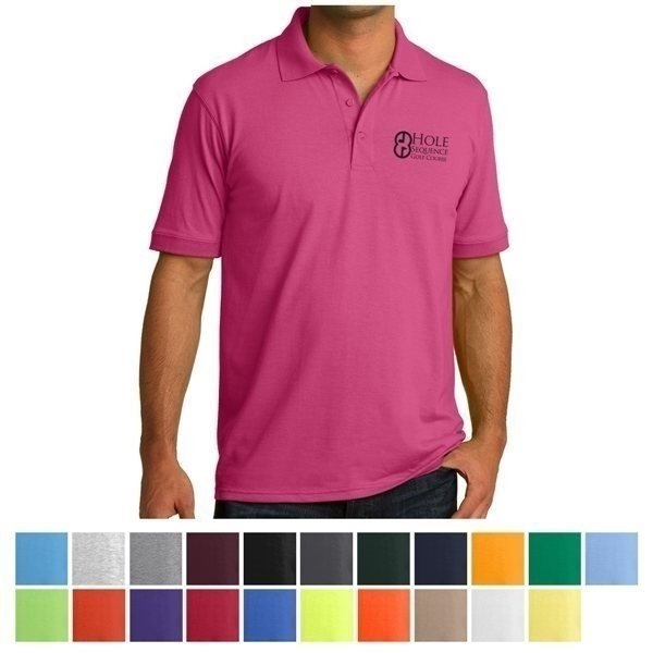 Promotional Port Company(R) Core Blend Jersey Knit Polo