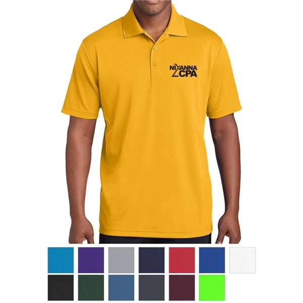 Promotional Sport - Tek(R) Mens PosiCharge(R) RacerMesh(TM) Polo