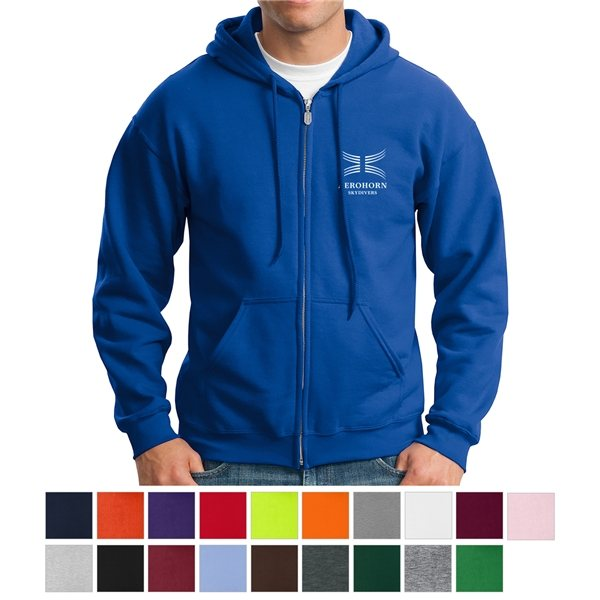 Promotional Gildan(R) Heavy Blend(TM) Full - Zip Hooded Sweatshirt - 18600