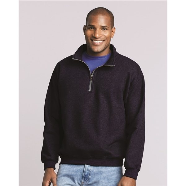 Promotional Gildan - Heavy Blend Quarter - Zip Cadet Collar Sweatshirt