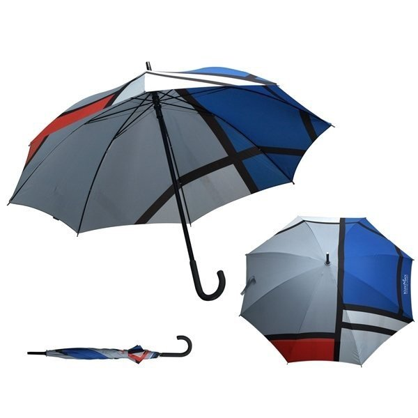 Promotional MoMA Mondrian Stick Umbrella