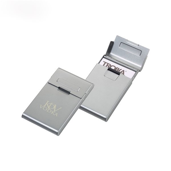 Promotional Troika Roller Business Card Case
