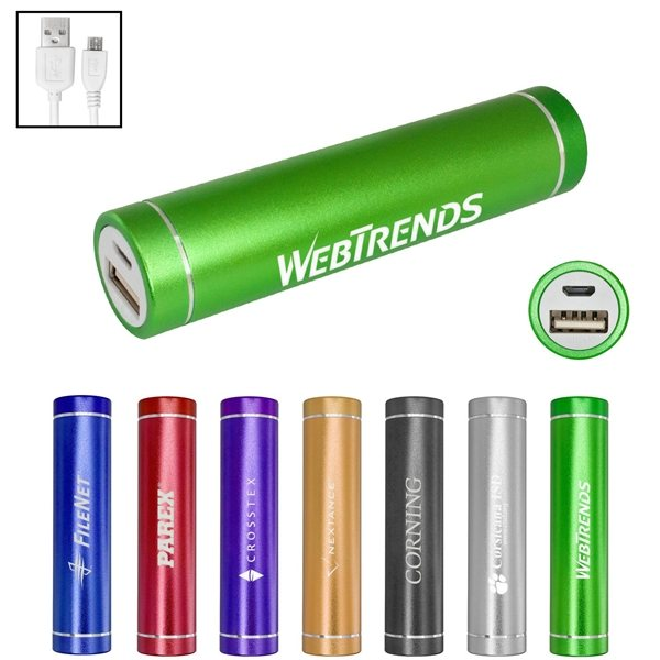 Promotional UL Cylinder Power Bank