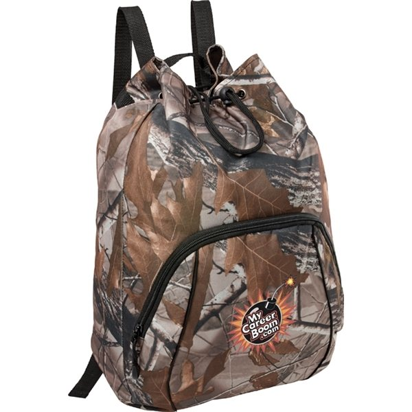 Promotional Camo Drawstring Sportspack