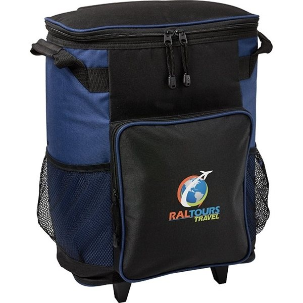 Promotional Surburban 36 Can Rolling Cooler Bag