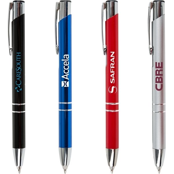 Promotional Star Metal Pen With Led Light