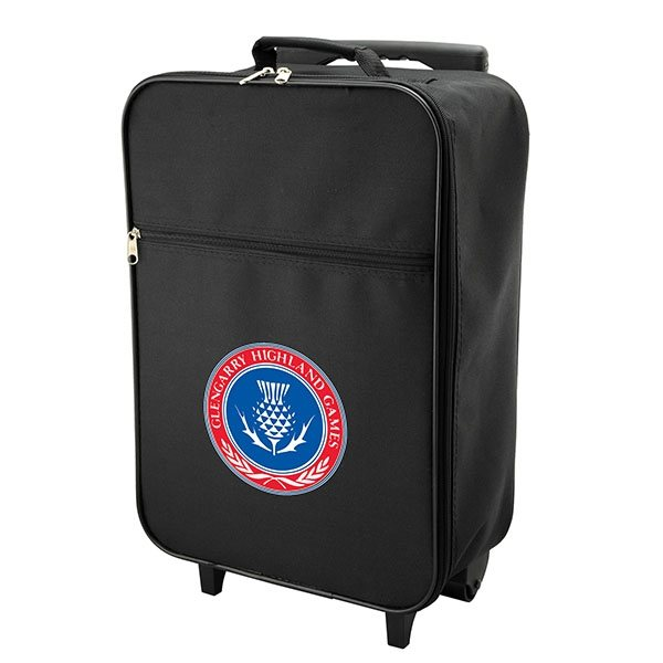Promotional Polyester Rolling Luggage Bag 17 x 6 x 12