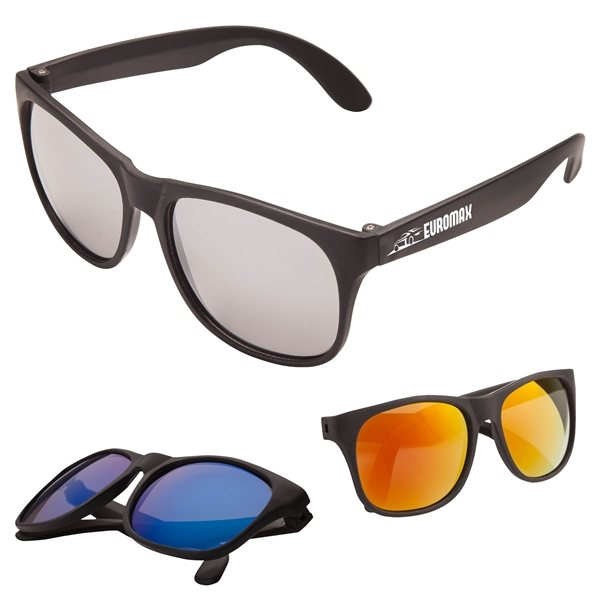 Promotional Sharp Mirrored Sunglasses