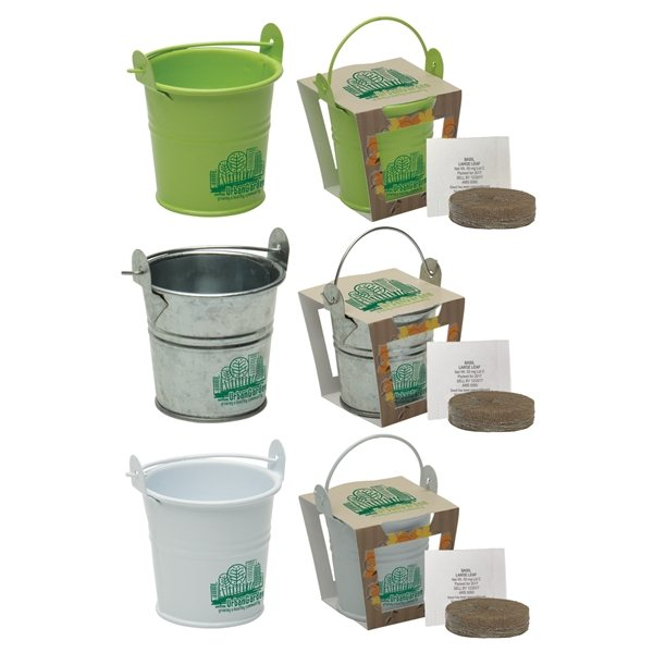 Promotional Mini Pail Blossom Kit