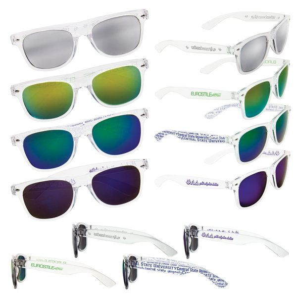Promotional Mirrored Lens Sunglasses