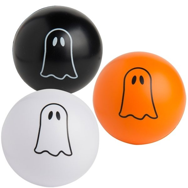 Promotional Ghost Squeezies Stress Ball