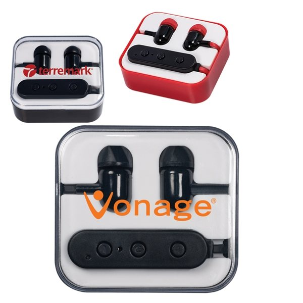 Promotional Wireless Bluetooth(R) Earbuds In Case