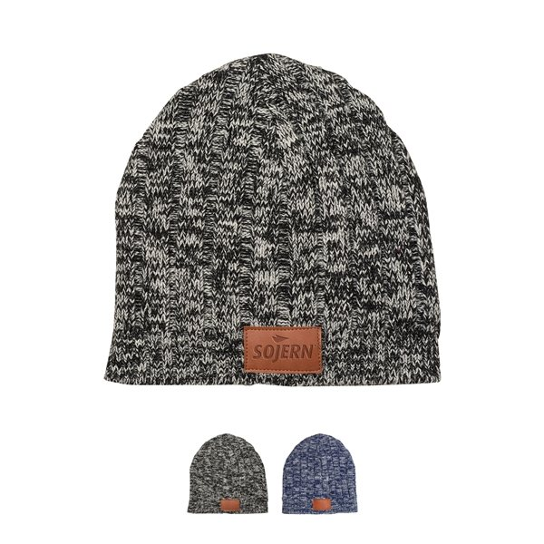 Promotional Tuscany(TM) Heathered Knit Beanie
