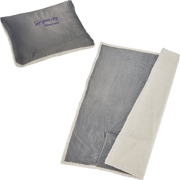 Promotional Field Co.(R) Sherpa on the Go Blanket