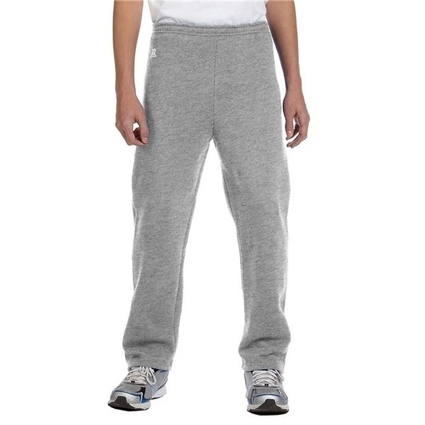 Promotional Russell Athletic Youth Dri - Power(R) Fleece Open - Bottom Pant - Oxford Grey