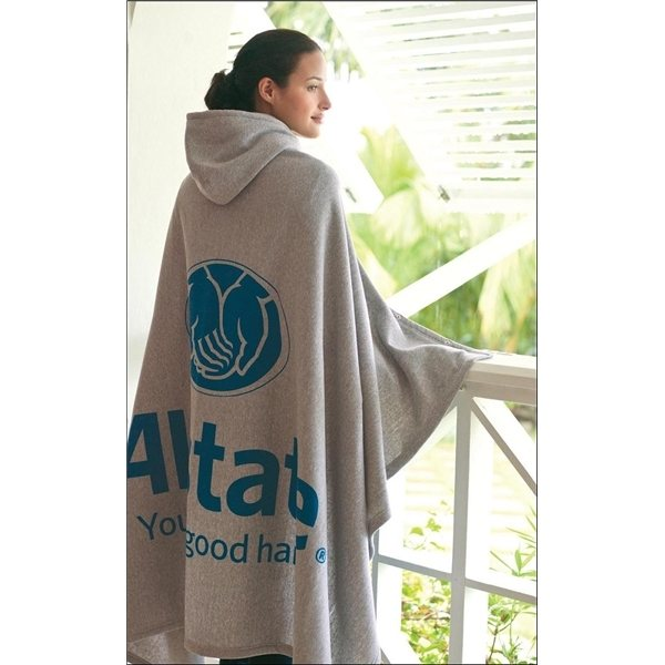 Promotional Game Day Hooded Blanket